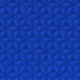 Abstrakte Oberfläche der blauen Sterne - quadratischer Hintergrund Stockfotografie