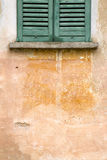 abstrakte Orange azzate Fenster-Vareses Italien Lizenzfreies Stockfoto