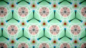 Abstrakte orange grüne und weiße Farbmustertapete Stockfotos