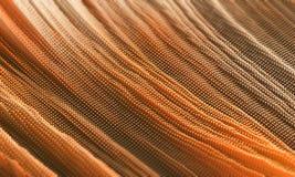Abstrakte orange Linien oder Farbe Lizenzfreies Stockbild