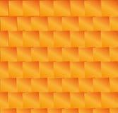 Abstrakte Orange quadriert Hintergrund Stockfotos