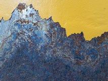 Abstrakte Oxidation stockfoto