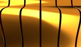 Abstrakte Perspektiven-Kurve zeichnet Hintergrund vektor abbildung