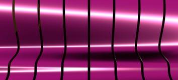 Abstrakte Perspektiven-Kurve zeichnet Hintergrund stock abbildung