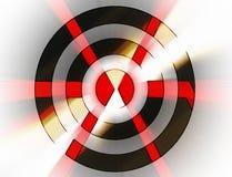 Abstrakte Pfeile in einem Ziel vektor abbildung