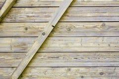 Abstrakte Planken des Zauns Stockfotos