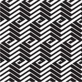 Abstrakte Quadratlinie Muster der Spirale 3d vektor abbildung