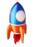 Abstrakte Rakete 3d Lizenzfreies Stockbild