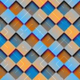 Abstrakte Raute geometrisch mit Steigungseffekt lizenzfreie abbildung