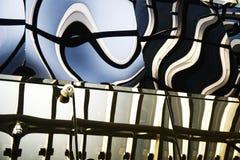 Abstrakte Reflexion stockbild