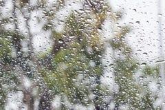 Abstrakte Regentropfentropfen Lizenzfreie Stockbilder