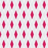 Abstrakte rosa Fuchsie und grauer Hintergrund mit Rauten in den weichen schönen Farben Lizenzfreie Stockfotos