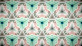 Abstrakte rosa grüne und weiße Farbmustertapete Stockfoto