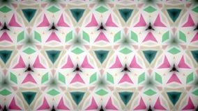 Abstrakte rosa grüne und weiße Farbmustertapete Stockbild