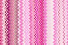Abstrakte Rosa-und weißezickzack-Linien masern für Hintergrund stock abbildung