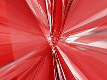 Abstrakte rote Art Lizenzfreies Stockfoto