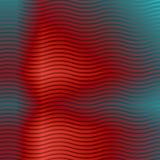 Abstrakte rote Linien Wellenhintergrund stock abbildung