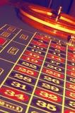 Abstrakte Roulette-Tabelle Stockbilder
