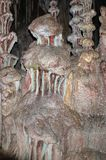 Abstrakte Salzsteinstrukturen Stockbilder