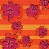 Abstrakte schöne Blumen Stockfotografie