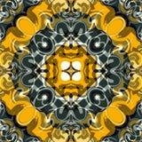 Abstrakte schöne farbige Gegenstandvektorillustration Lizenzfreies Stockfoto