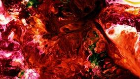 Abstrakte Schönheit der Kunsttintenfarbe explodieren bunte Fantasieverbreitung stock abbildung