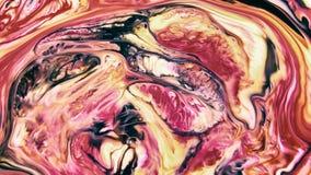 Abstrakte Schönheit der Kunsttintenfarbe explodieren bunte Fantasieverbreitung lizenzfreie abbildung