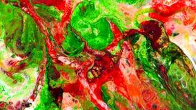 Abstrakte Schönheit der Kunsttintenfarbe explodieren bunte Fantasieverbreitung Stockfotografie