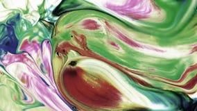 Abstrakte Schönheit der Kunsttintenfarbe explodieren bunte Fantasieverbreitung Lizenzfreie Stockfotografie