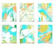 Abstrakte Schablone des Sommers Lizenzfreie Stockfotos