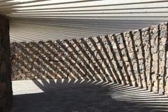 Abstrakte Schatten der Reise Stockbilder