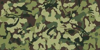 Abstrakte Schmutztarnung, Militärmuster, Armee oder Jagd der nahtlosen Musterbeschaffenheit der grünen Kleidung lizenzfreie abbildung