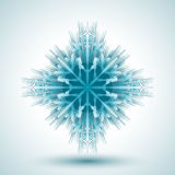 Abstrakte Schneeflocke Stockfotos