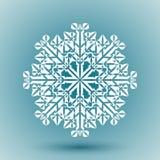 Abstrakte Schneeflocke Stockbild