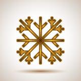 Abstrakte Schneeflocke Stockfotografie