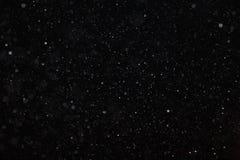 Abstrakte schwarze weiße Schneebeschaffenheit Lizenzfreies Stockfoto