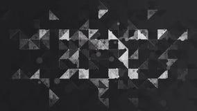 Abstrakte Schwarzweiss-Farbmustertapete Stockfotos