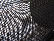 Abstrakte Schwarzweiss-Masche lizenzfreies stockbild