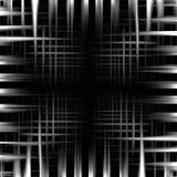 Abstrakter Schwarzweiss-Metallrahmenhintergrund Lizenzfreies Stockfoto