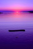 Abstrakte Seelandschaft Stockfotos