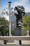 Abstrakte Skulptur Stockbild