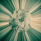 Abstrakte Sonne rays Hintergrund vektor abbildung
