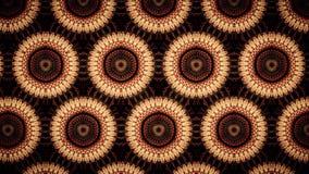 Abstrakte Sonnenblumenmustertapete Stockbild