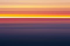 Abstrakte Sonnenuntergangfarben, Stockfoto