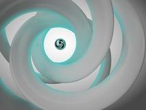 Abstrakte Spirale stock abbildung