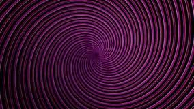 Abstrakte Spirale, die Linien, computererzeugten Hintergrund, Hintergrund der Wiedergabe 3D dreht und verdreht Drehen leuchtend stock abbildung