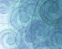 Abstrakte Spirale-Strudel Stockbilder