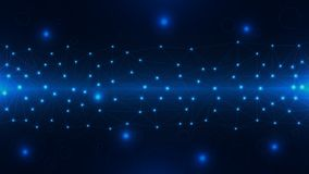 Abstrakte Spitzentechnologie als Hintergrund lizenzfreie abbildung