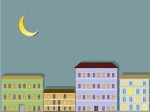 Abstrakte Stadt Lizenzfreies Stockfoto