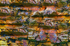 Abstrakte Steinformen und Beschaffenheiten stockfotografie